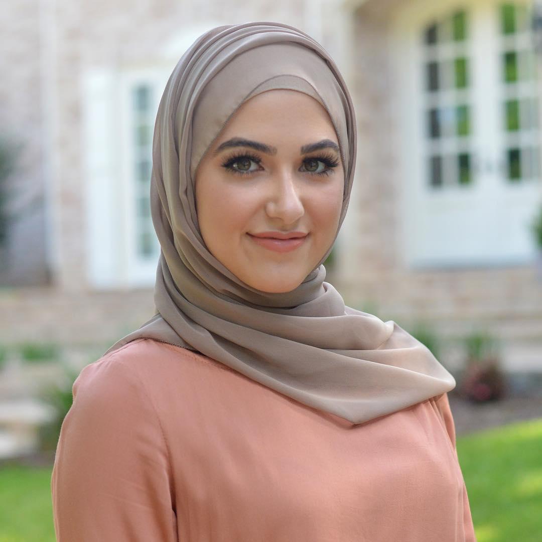 كيفية لبس الحجاب للوجة النحيف