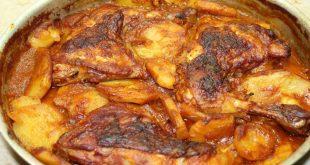 صور طريقة عمل الفراخ بالبطاطس , اشهي واسهل اكلة
