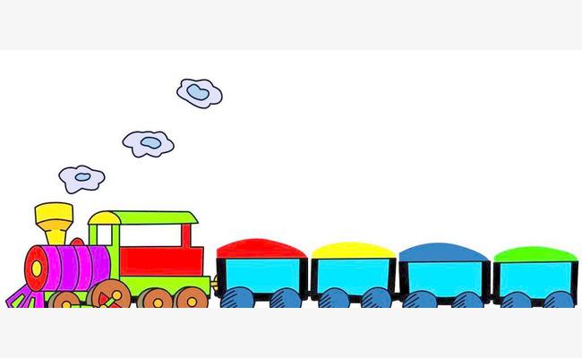 صور قطار كرتون صور كرتونية للاطفال حنين الذكريات