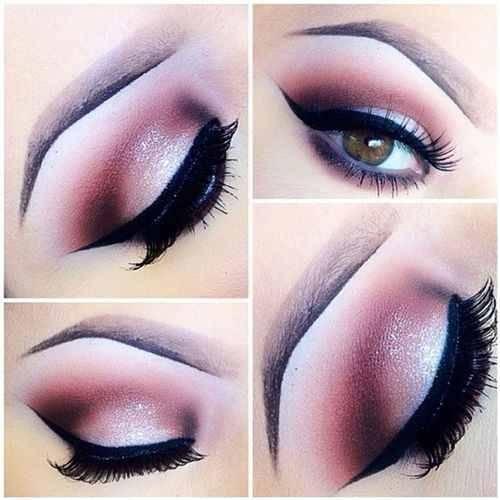 صورة صور مكياج عيون جميل , اجمل رسومات العيون بالمكياج