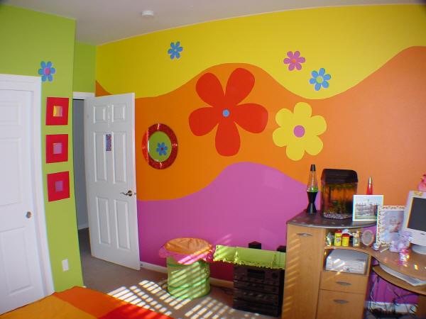 صور ديكورات نقاشه غرف اطفال , فكر ابداعية جديدة