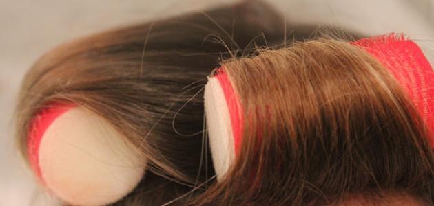 صور كيفية لف الشعر , طرق سهله لفرد الشعر