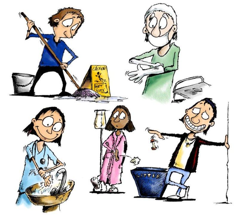 صورة اهمية عامل النظافة , اهم وظيفه في الدوله