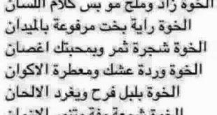 صور شعر عراقي عن الاخ , بديل الاب في المقام