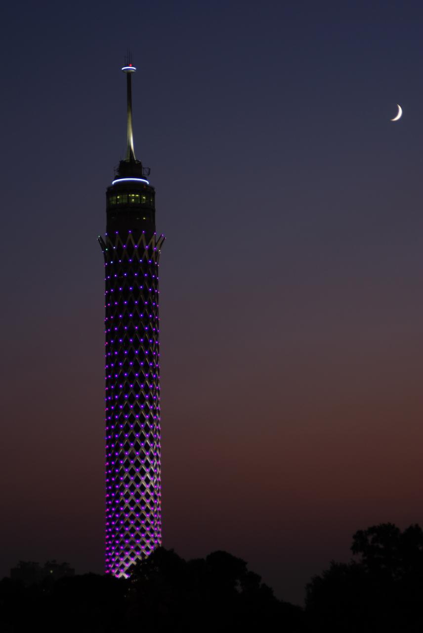 صورة صور برج القاهرة , اجمل واروع الصور لبرج القاهره