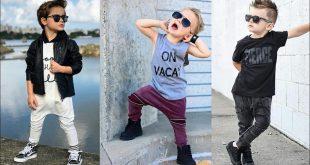 صور ازياء اطفال اولاد , احدث الموديلات لملابس الاولاد الصغار