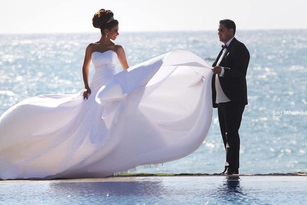 صورة اجمل لقطات العرسان , احلى صور للمتزوجين يوم الزفاف 2090 3