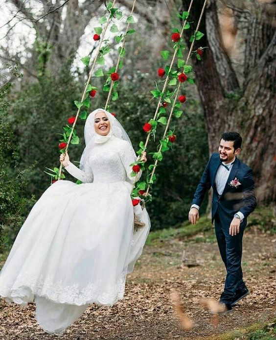 صورة اجمل لقطات العرسان , احلى صور للمتزوجين يوم الزفاف 2090 7