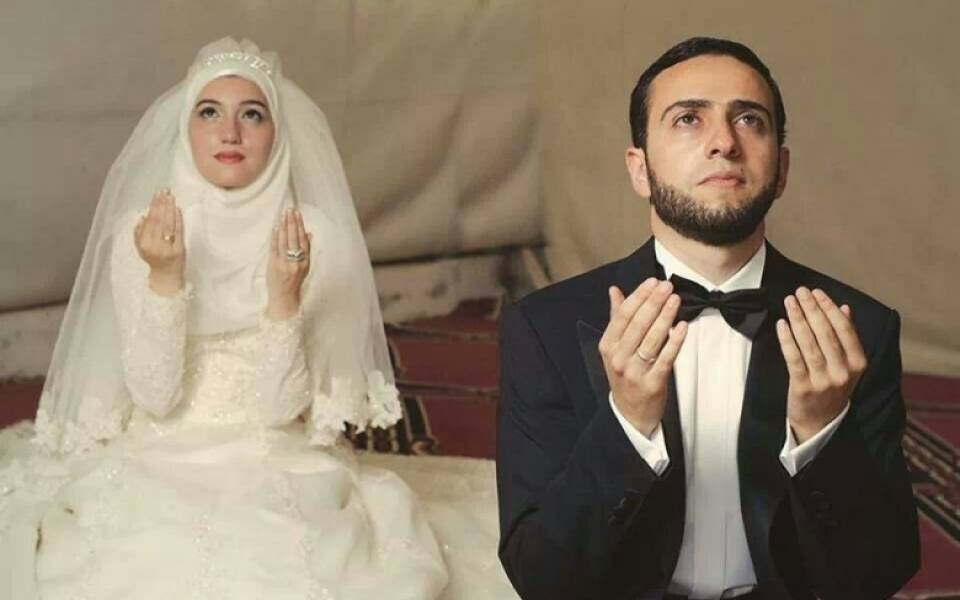 صورة اجمل لقطات العرسان , احلى صور للمتزوجين يوم الزفاف 2090 9