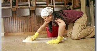 صورة كيف انظف سيراميك المطبخ من الدهون , كيف تعيدين ارضية المطبخ نظيفة ولامعة