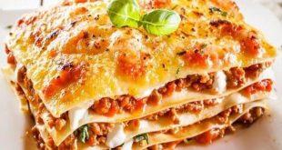 صور طريقة عمل اللازانيا باللحم , اشهر اكلة ايطالية