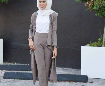 صورة ملابس محجبات كاجوال , المحجبات و موضة الازياء