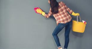 صورة تنظيف الحوائط من الدهون , اسهل الطرق لازالة الدهون من الحائط
