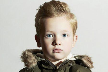 صورة قصات شعر اطفال اولاد 2019 , اعمليله لوك و خلى ابنك جنتل مان