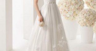 صور انواع فساتين الزفاف , اشكال مختلفة للفستان الابيض