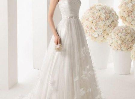 صورة انواع فساتين الزفاف , اشكال مختلفة للفستان الابيض