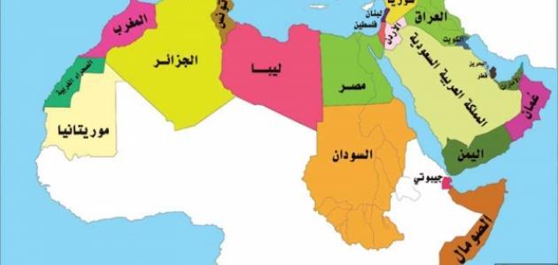 كم عدد الدول العربية الافريقية دول وحدود قارة افريقيا حنين الذكريات