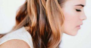 تسريحات شعر وسط
