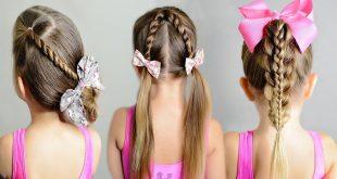 تسريحات شعر للاطفال بالخطوات , اعملى احلى تسريحة لبنتك