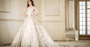 صورة فساتين زفاف فخمة , ارقى و اروع فساتين الزفاف