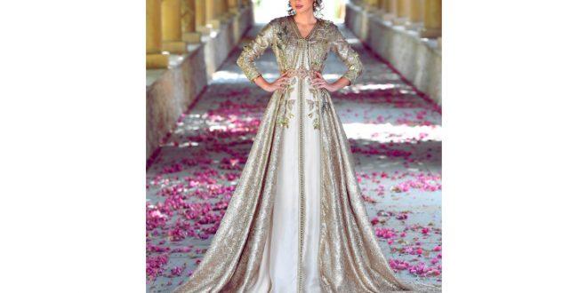 صورة فساتين مغربية للاعراس , تالقى باشيك قفطان مغربى
