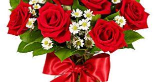 ورود رومانسية للاهداء , احلى باقة ورد لحبيبة قلبك