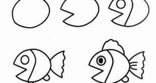 صورة رسومات بسيطة جدا , اسهل الرسومات البسيطه لتعليم لاطفال