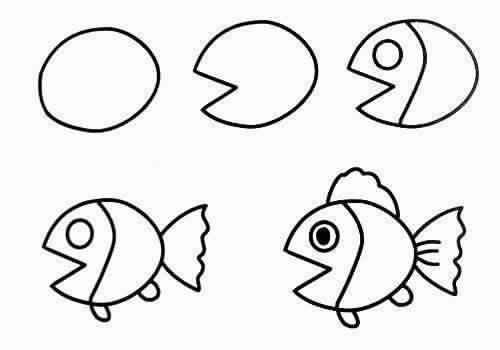 رسومات بسيطة جدا اسهل الرسومات البسيطه لتعليم لاطفال حنين الذكريات