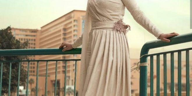 صورة فساتين السهرة للمحجبات , الفساتين السهرة للمحجبات وجمالهم