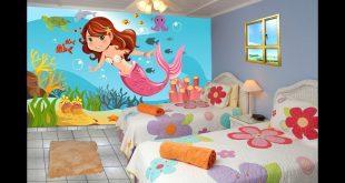 صورة رسومات غرف اطفال , دلعى غرفه ولادك باحلى الرسومات