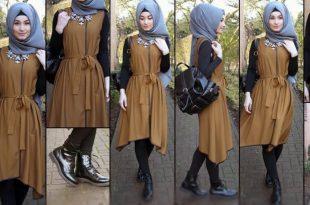 صورة عالم الموضة للمحجبات , ما اجمل لبس المحجبات