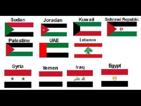 اعلام الدول العربية واسمائها كم يبلغ عدد الدول العربية حنين الذكريات