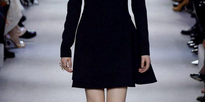 صورة موديلات فساتين سهرة قصيرة , احدث وارق فستان سهرة قصير