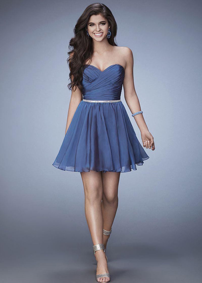 موديلات فساتين سهرة قصيرة احدث وارق فستان سهرة قصير حنين الذكريات