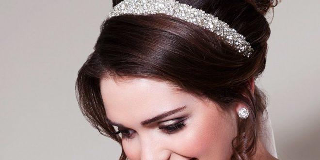 صورة تساريح شعر للعرايس , تسريحات العرائس الموضه الجديدة