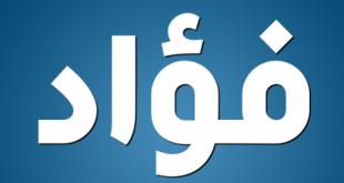 صورة معنى كلمة فؤاد , اسم عظيم ولكن معنى اقوى