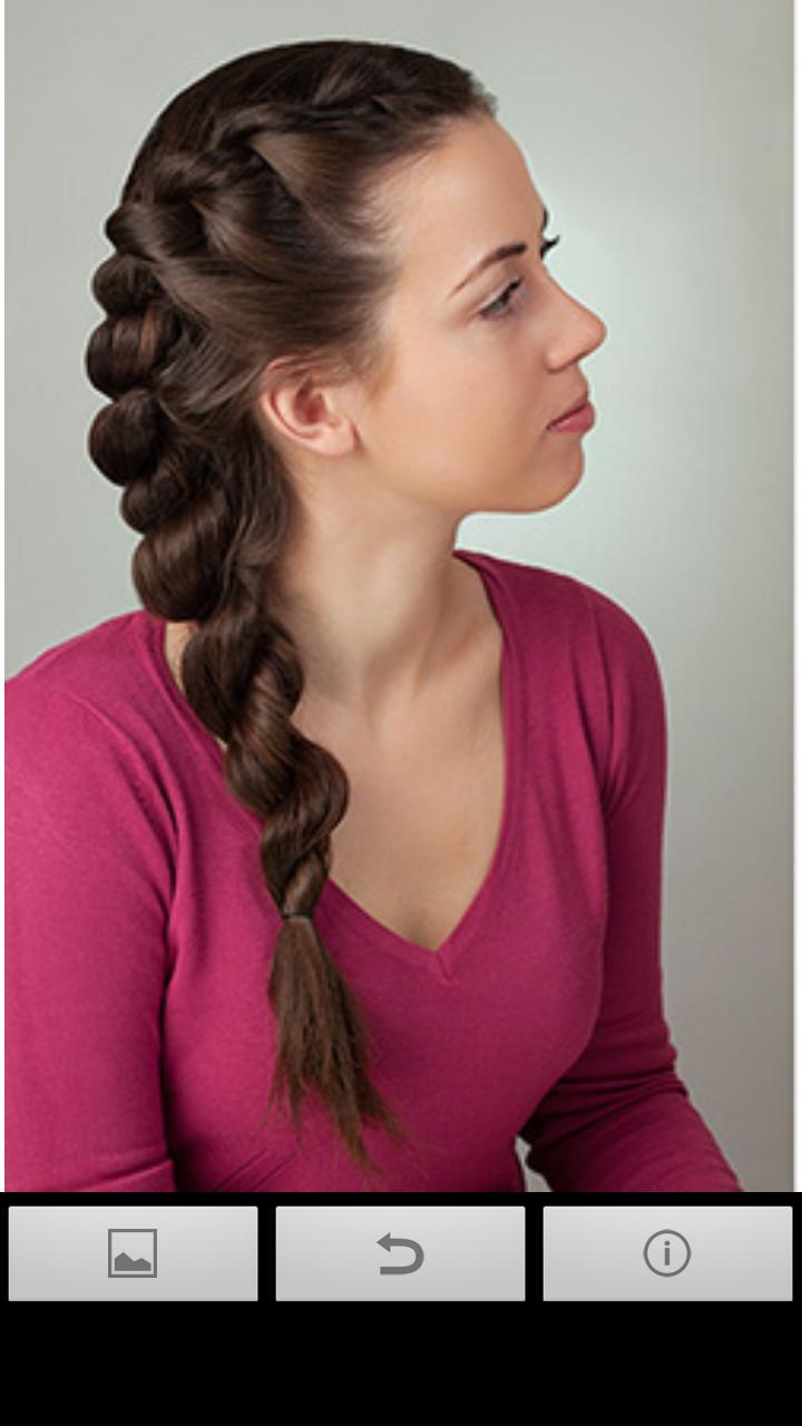 صورة اجمل تسريحات شعر للبنات , احدث تسريحات للبنات
