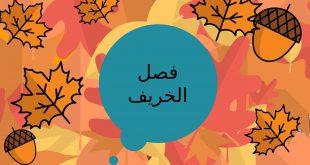 معلومات عن فصل الخريف , معلومات مهمه عن فصل الخريف