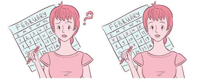 صورة اسباب عدم نزول الدورة الشهرية في موعدها , ما السبب وراء هذه