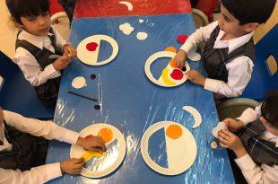 صورة عمل فني للاطفال , مهارة طفلك في شغل ايده