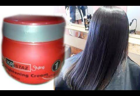 صورة طريقة فرد الشعر بالكريم , افردي شعرك بدون مكواه