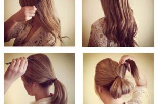 صورة عمل تسريحات بسيطة , ابتكري في تسريحات شعرك