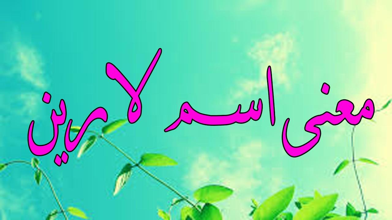 صورة لارين معنى اسم , اسماء بنات و معانيها