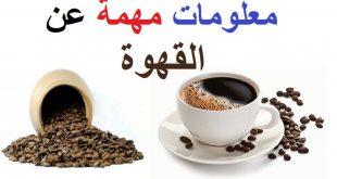 صورة معلومات عن القهوة , القهوه مفيده ام ضارة