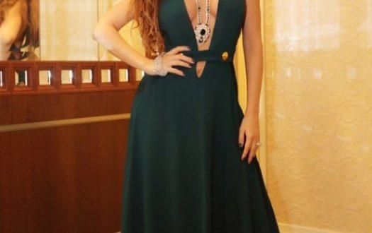 صورة فساتين ميريام فارس الجديده , احدث الفساتين لمريام فارس