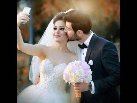 صورة عرايس وعرسان رومانسية , الليلة التي تنتظرها البنات