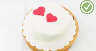 صورة طريقة عمل كيكة بالكريمة سهلة , اسهله طريقه لصنع الكيكه الشهيه