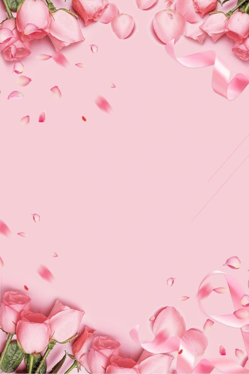 خلفيات ناعمة ووردية