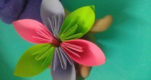 صورة صنع اشياء بسيطة , تعلم صنع الورد بالكرتون المتباقى من المحارم