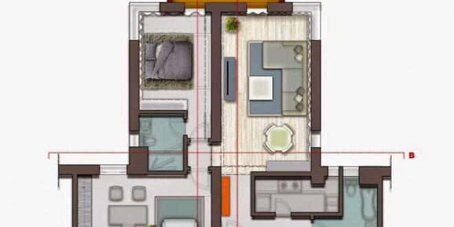 صورة مخطط شقق صغيرة , كيف تصنعين من الاماكن الضيقة دولابا عمليا؟